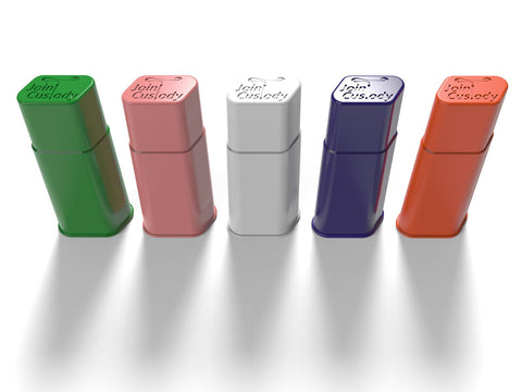 Joint Custody Case Pre-Rolled Cone Filler Box 6 Slots Choice of Colors