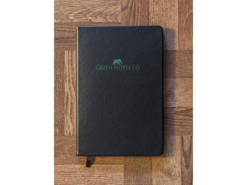 Green Notes Grow Book Garden Journal - Awesome Little Garden Diary To Keep Organized Etc.