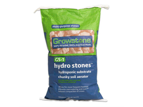 "GrowStones Hydro Substrate GS-1 3/8 x 3/4"" .5cf 9L"