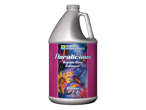 General Hydroponics Nutrient / Additive - Floralicious Bloom  4L (1Gal)