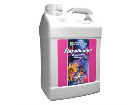 General Hydroponics Nutrient / Additive - Floralicious Bloom 10L (2.5Gal)