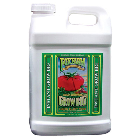 FoxFarm Nutrient / Additive Grow Big 2.5 Gallon Bottle