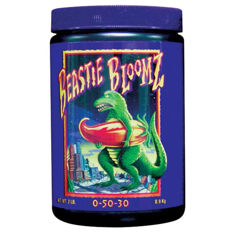 foxfarm nutrient additive beastie bloomz 2lb jar