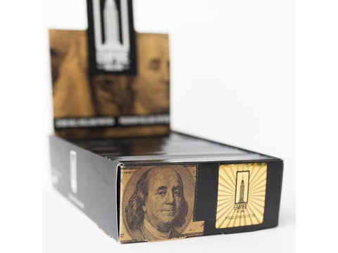 Empire Rolling Papers Rolling Bennys $100 Bill USD KingSize 10/pack 24/box