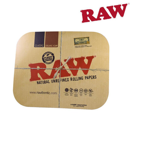 "RAW Metal Rolling Tray Magnetic COVER - Large 34cm (11""x14"") Fits RAW LARGE Trays"