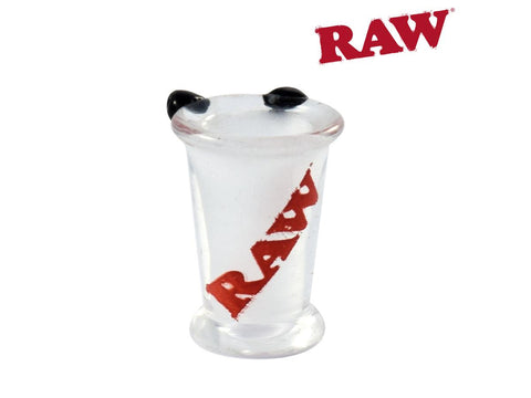 RAW Tip / Joint Holder - Glass Cone Bro - Fits Pre-Rolled Cones