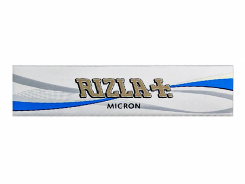 Rizla Rolling Papers King Size Micron Thin Silver Slim 33/pack
