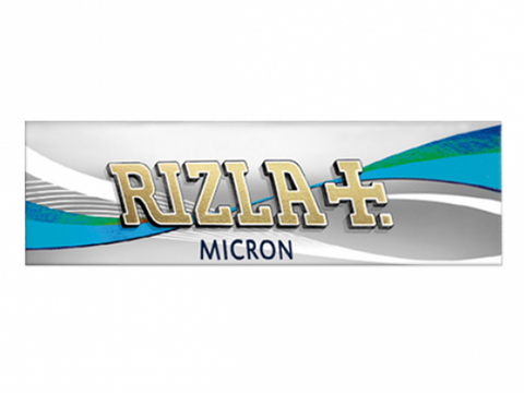 Rizla Rolling Papers Single Size Micron Thin Silver Single-Fold 33/pack