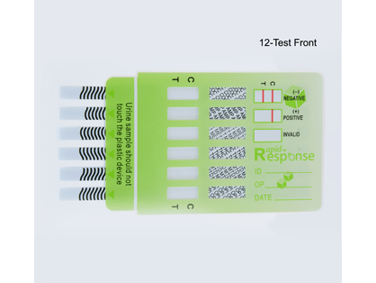 Rapid Response(TM) Urine Test Strip - 12 Panel