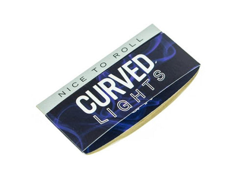 Curved Rolling Papers 1-1/4 Size Lights 50/pack