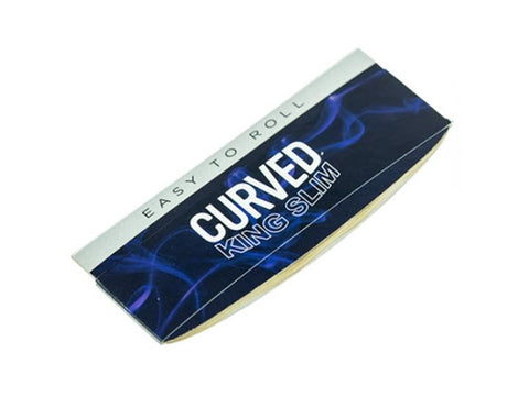 Curved Rolling Papers King Size Slim 50/pack