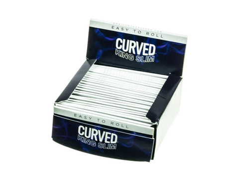 Curved Rolling Papers King Size Slim 50/pack 24/box