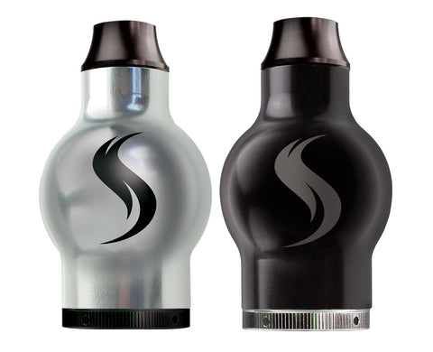 shatterizer metal top silver and black