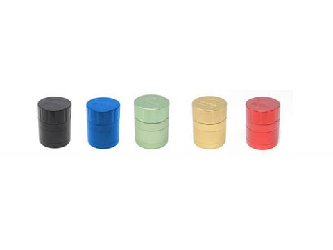 "Cali Crusher 2.0 Quicklock 1.85"" 4-Piece Pollinator Grinder Choice of Colors"
