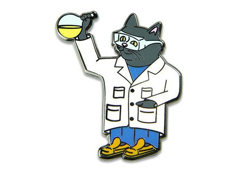 Grassroots California Hat Pin Chemistry Cat