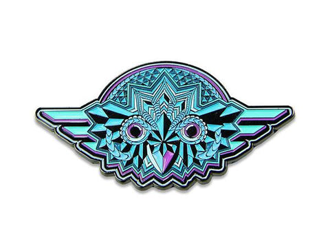 Grassroots California Hat Pin Night Owl Blue
