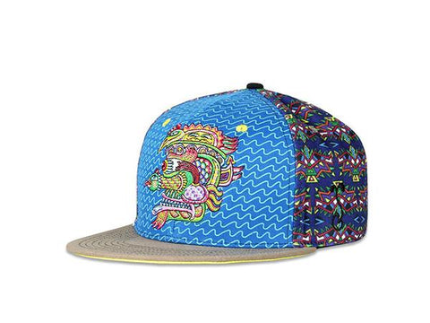 Grassroots California Hat - SnapBack Chris Dyer Snake Choice of Sizes