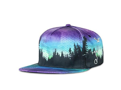 Grassroots California Hat - SnapBack Camproots Purple V2 Choice of Sizes