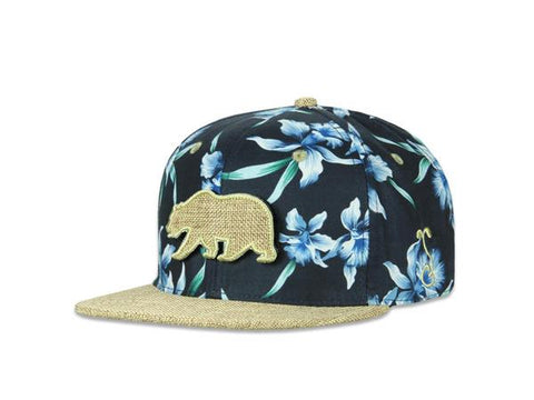 Grassroots California Hat - SnapBack Removable Bear Aloha Choice of Sizes