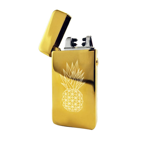 Elektro Plasma Lighter Advanced USB Rechargeable - Fusion Pineapple Express on Gold