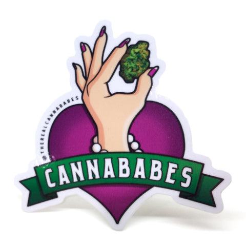 Cannababes Sticker Cannababes Light