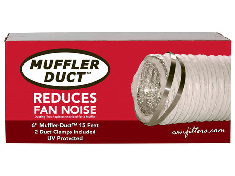 "CAN Filter Group Muffler Ducting  6"" x 15' W/ 2 Clamps"