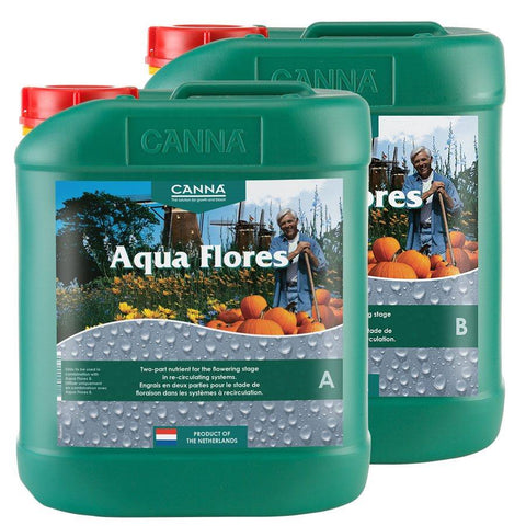 Canna Nutrients & Additives - Aqua Flores A&B 5L