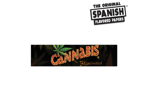 Spanish Rolling Papers Flavoured Cannabis King Size 33/pack 25/box