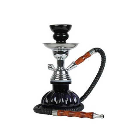 "VooDoo Hookah Pumpkin 9"" 1-Hose Choice of Color"