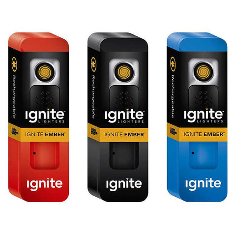 Ignite Ember USB Flameless Lighter Assorted Colors