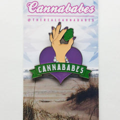 Cannababes Pin Cannababes Light