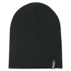Grassroots California Hat - Beanie Black Slouch OSFM
