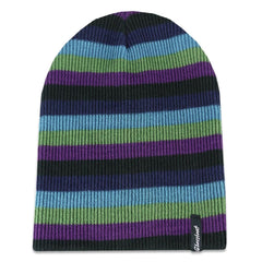 Grassroots California Hat - Beanie Berry Striped Slouch OSFM