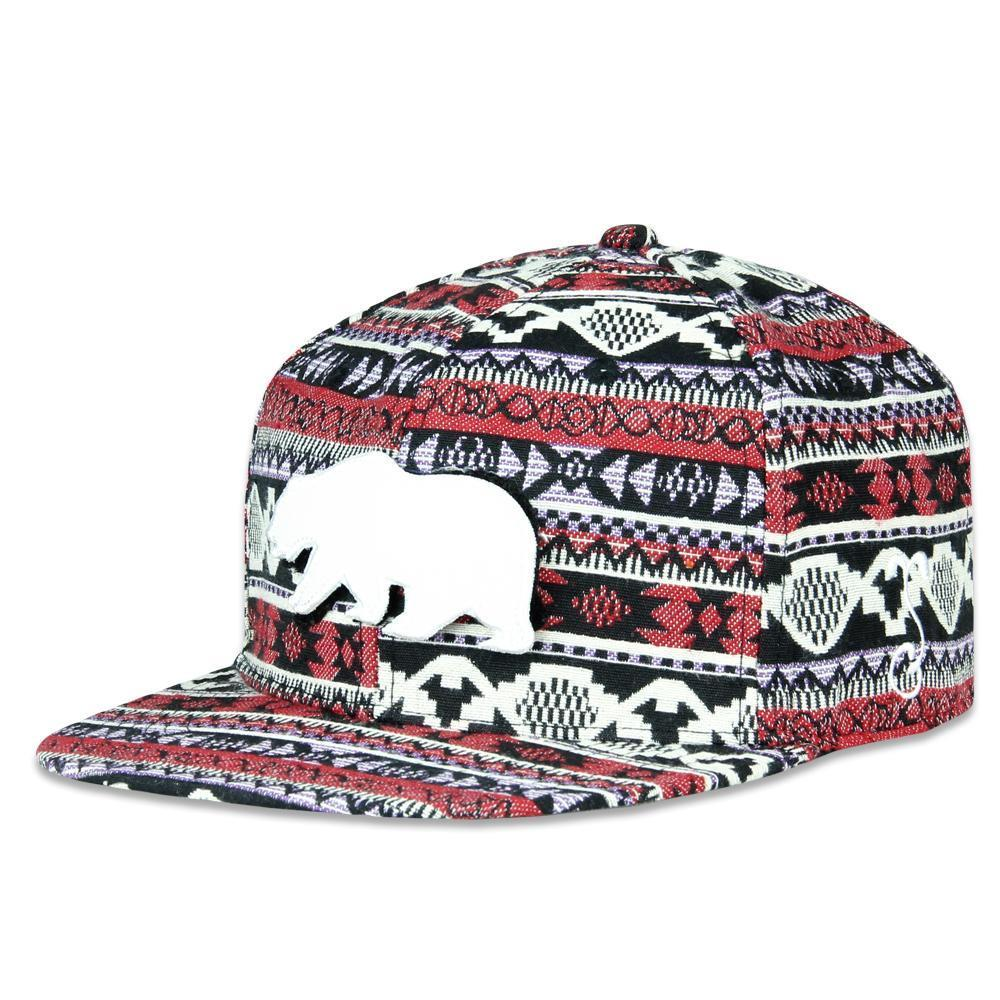 89354061c98 Grassroots California Hat - SnapBack Removable Bear Forage Choice of Sizes