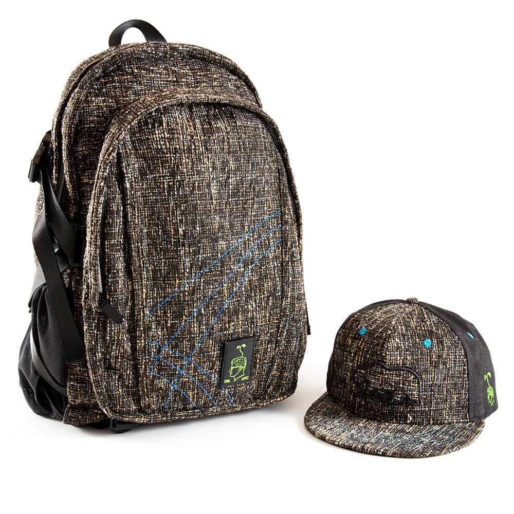 688ad6cfbd8 Grassroots SnapBack Concrete Matching DimeBags Backpack