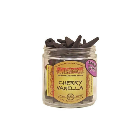 Wildberry Back-Flow Incense Cones Singles Choice of Scents
