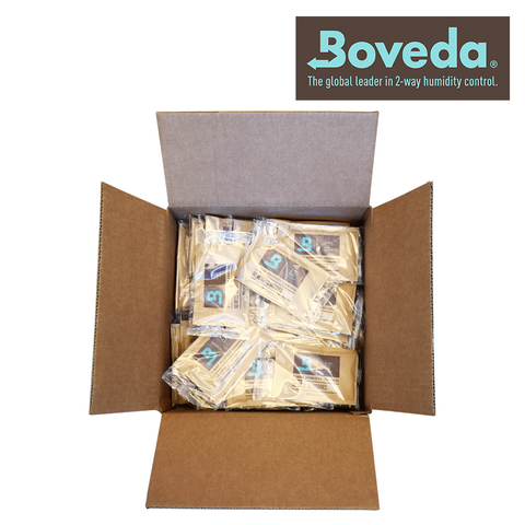 Boveda Humidipak Humidity Controlling Pack For Any Airtight Container 62% 67g 100/box
