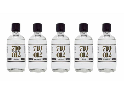710 Ready Mix (was Extract Solutions Co.) Vape Pen Oil Mix 120ml Bottle - Choice of Flavours