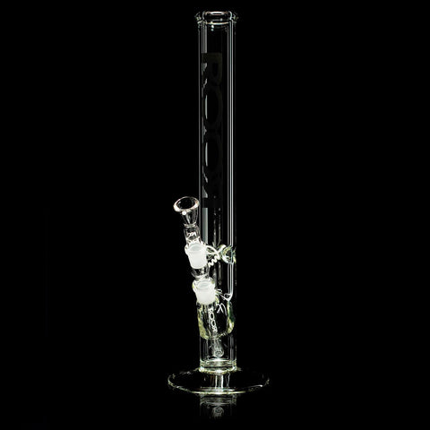 ROOR Germany WaterPipe - Straight 5.0x45mm 35cm (Bong) w/ Ice Black 14mm
