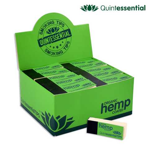 Quintessential Tips - OHC (Organic Hemp Coated) - 45/pack 50/box