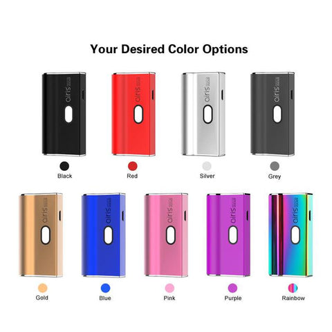 Airis Janus Battery For 510 Thread Cartridges AND Universal Pods Choice of Colors
