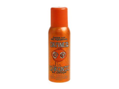 Orange Chronic Smoke Out All Natural Air Freshener Odor Removing Spray -  4oz