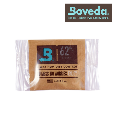 Boveda Individually Wrapped 62% 8g Humidity Pack