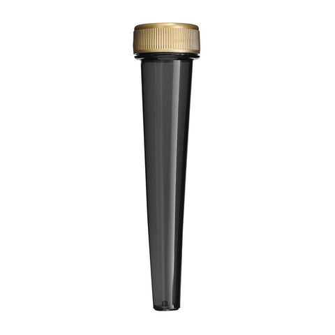 NoName Joint Tube Conical Black & Gold Screw-Top 102mm