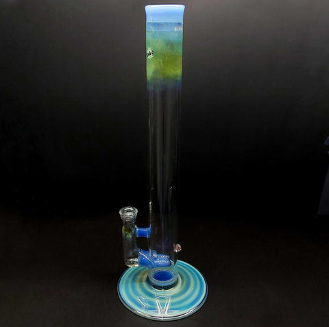 yougo boro full color worked stemless dual stem tube 19mm