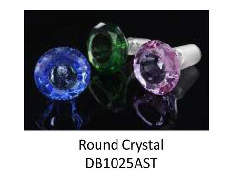 NoName Glass Bowl Crystal 14mm Brilliant Diamond Choice of Colors