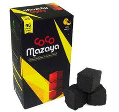 Coco Mazaya (By Coco Nara) Coconut Charcoals - 22x22x22mm Cube Shape - 96/box