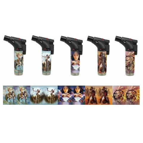 "Soul Torch Lighter ""Native"" Style Assorted Designs"