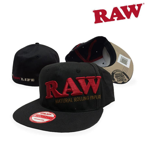 RAW Baseball Cap Flex-Fit Choice of Sizes S/M or L/XL