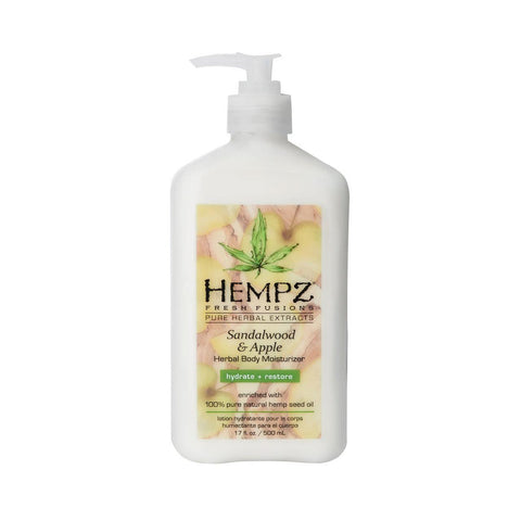 Hempz Sandalwood & Apple Herbal Body Moisturizer 17oz